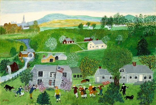 Grandma Moses - Summer Party